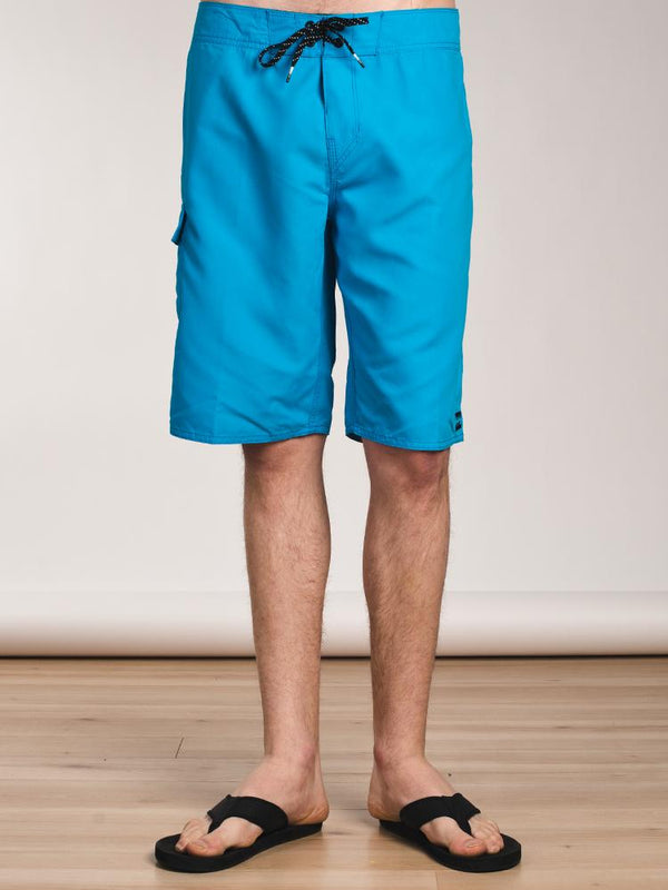 MENS ALL DAY SOLID B-SHORT - ROYAL- CLEARANCE