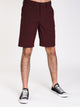 MENS CROSSFIRE X SHORT - BURGUNDY