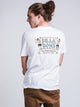 MENS BAMBOO SHORT SLEEVE T-SHIRT - WHITE
