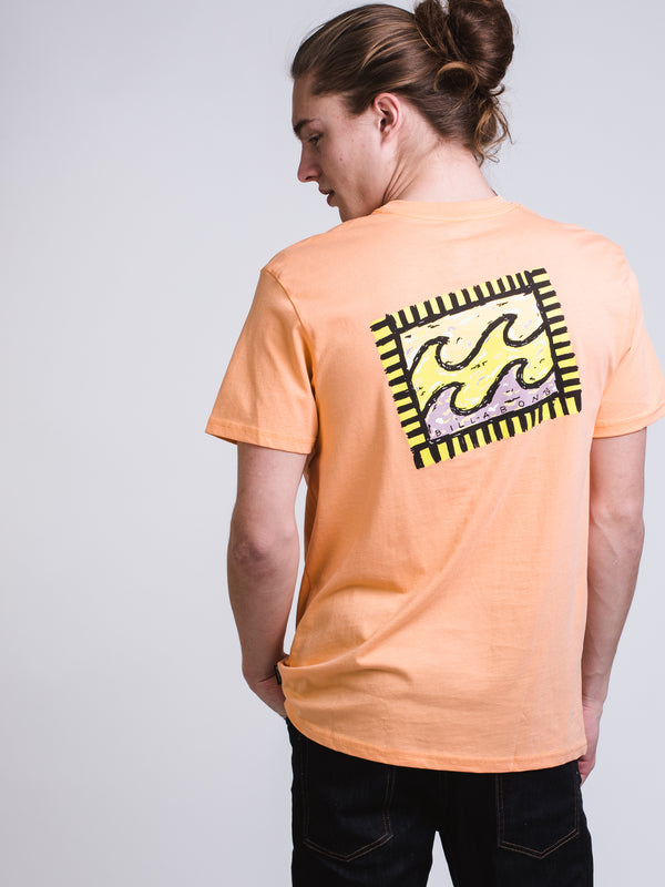 MENS NAIROBI SHORT SLEEVE T-SHIRT - CANTALOPE