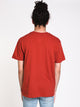 MENS FAUNA SHORT SLEEVE T-SHIRT - TERRACOTTA
