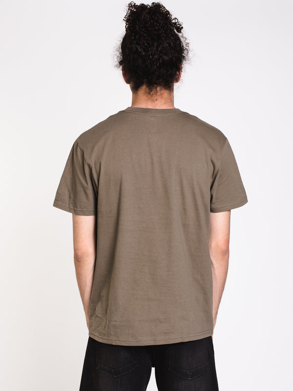 MENS UNION SHORT SLEEVE T-SHIRT - OLIVE