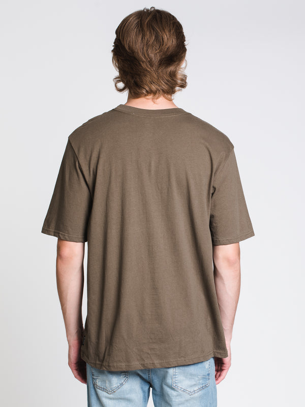 MENS 97 SHORT SLEEVET-SHIRT- OLIVE
