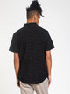MENS ALL DAY SHORT SLEEVE WOVEN - BLACK