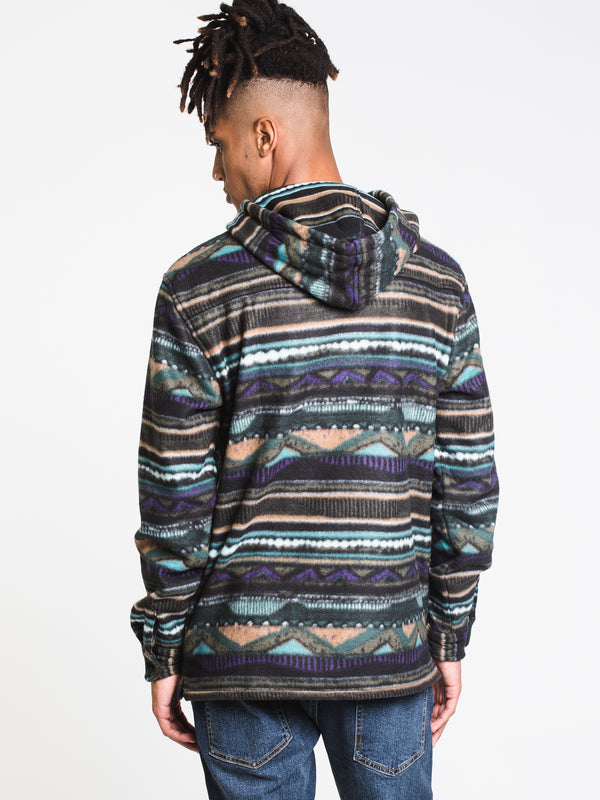 MENS FURNACE PULLOVER FLEECE - BERMUDA