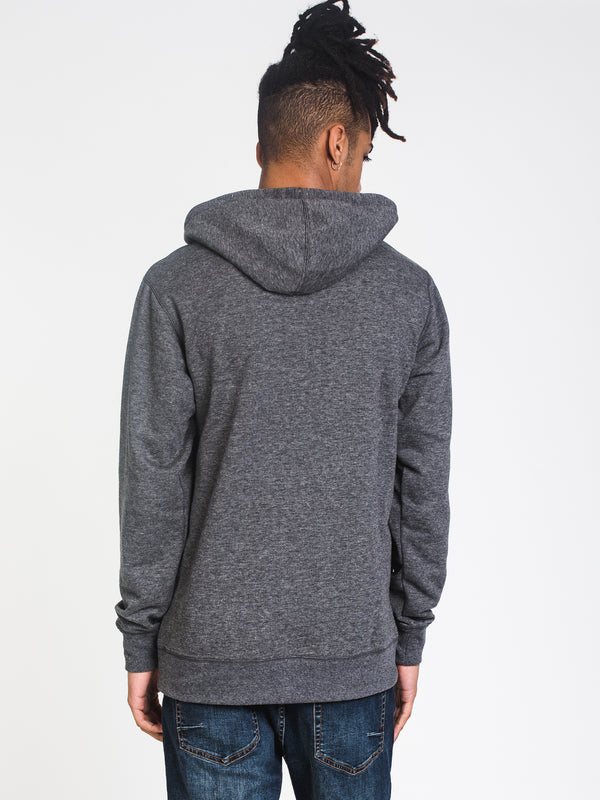 MENS ALL DAY PULL OVER HOODIE- BLACK