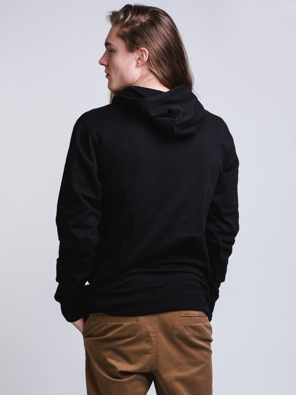 MENS KEYLINE Pullover HOOD - BLACK