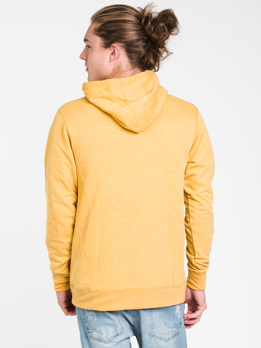 MENS ALLDAY PATCH Pullover HOOD - GOLD