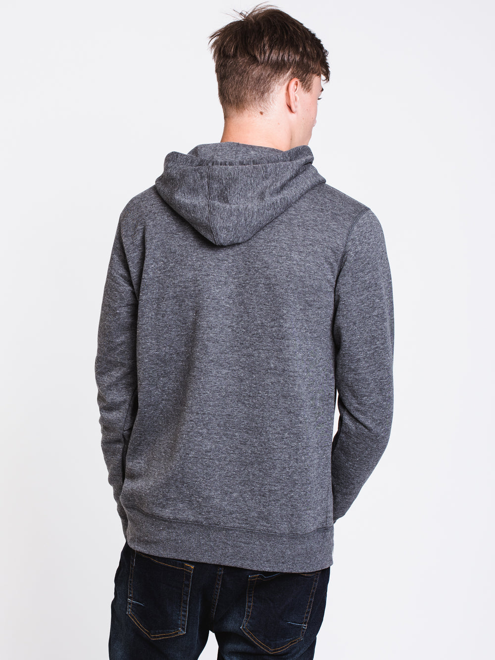 MENS ALL DAY PULLOVER HOODIE - BLACK