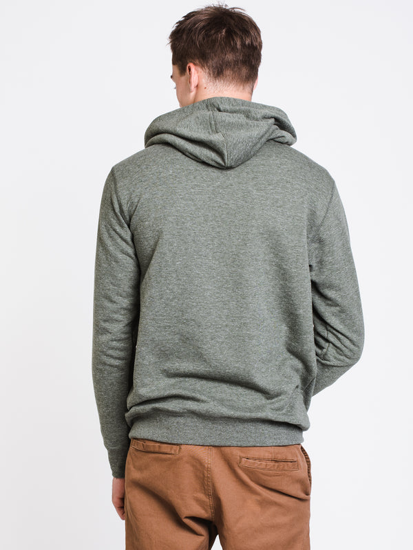 MENS ALL DAY PULLOVER HOODIE- MILITARY
