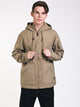 MENS ALL DAY CNVS JACKET - KHAKI - CLEARANCE
