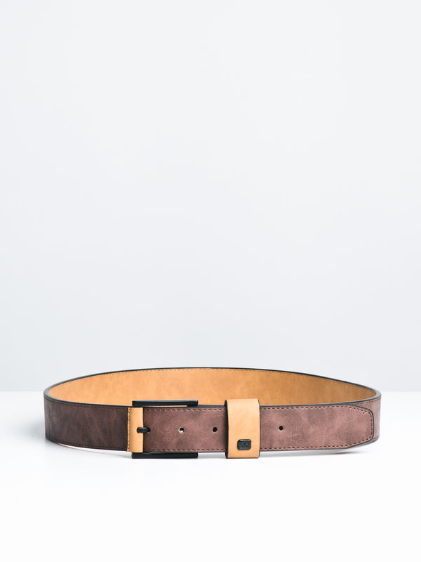 GAVIOTA PU BELT - DARK EARTH