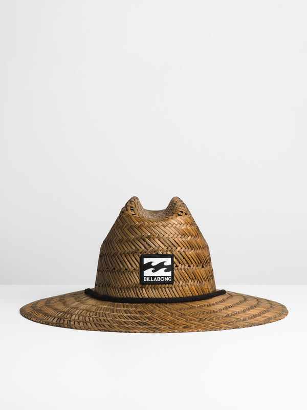 TIDEZ STRAW HAT - BROWN
