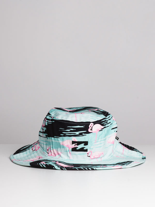BIG JOHN PRINT HAT - FLAMINGO