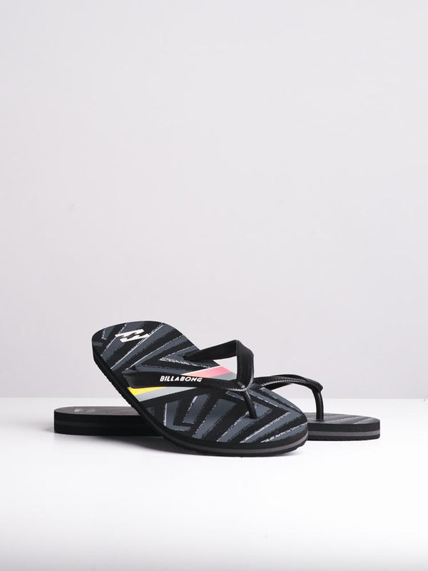 MENS TIDES BLACK SANDALS