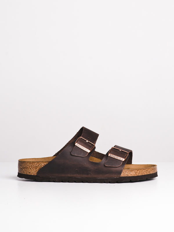 MENS ARIZONA OILED LEATHER HAVANA SANDALS