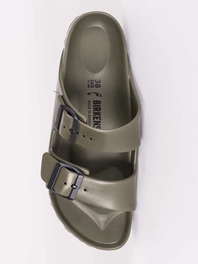 WOMENS ARIZONA EVA KHAKI SANDALS