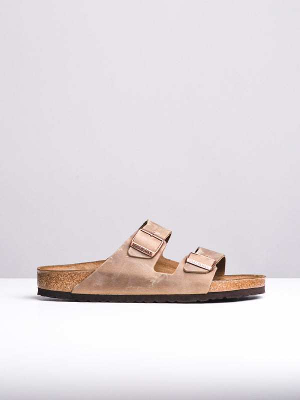 MENS ARIZONA LEATHER TOBACCO OILED SANDALS