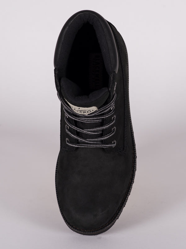 MENS SHERBROOKE NUBUCK LEATHER LACE-UP BOOT  - CLEARANCE