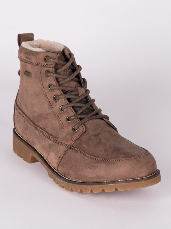 MENS FRANKIE NUBUCK LEATHER LACE-UP BOOT  - CLEARANCE