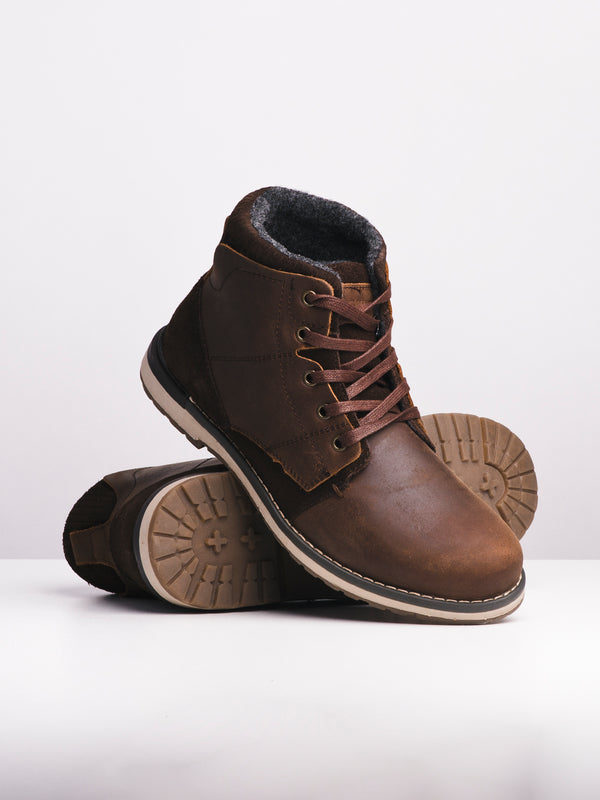 MENS WYATT - BROWN-D4