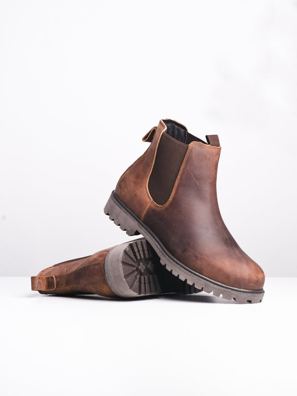 MENS FINLEY - LIGHT BROWN-D4B