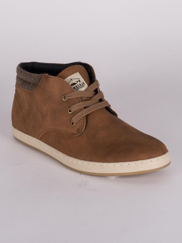 MENS EASTON VEGAN NUBUCK LEATHER SHOE  - CLEARANCE