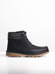 MENS LOGAN - BLACK-D5 - CLEARANCE