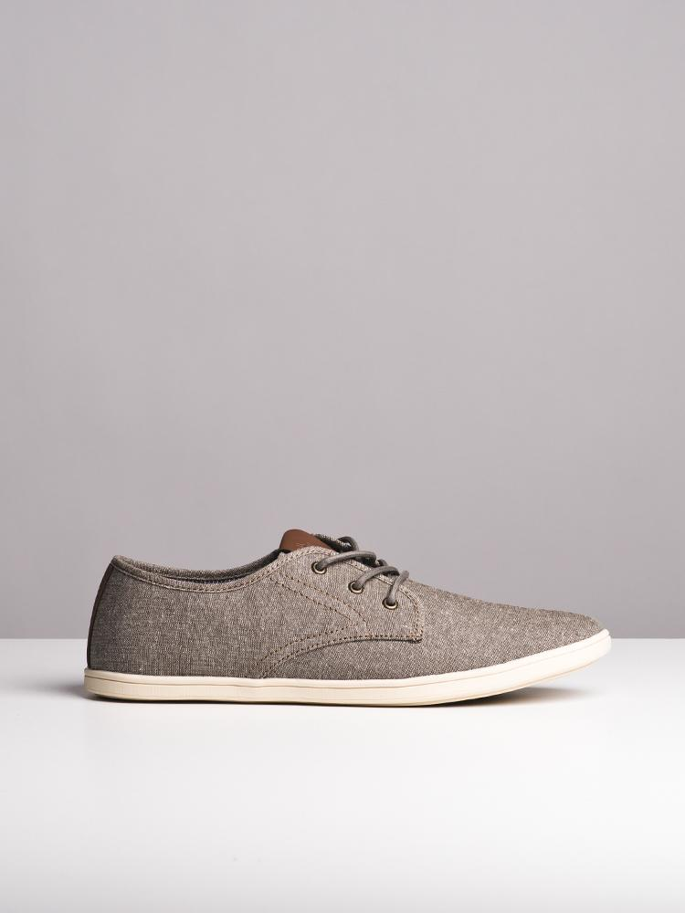 MENS ISAAC BROWN CANVAS SHOES
