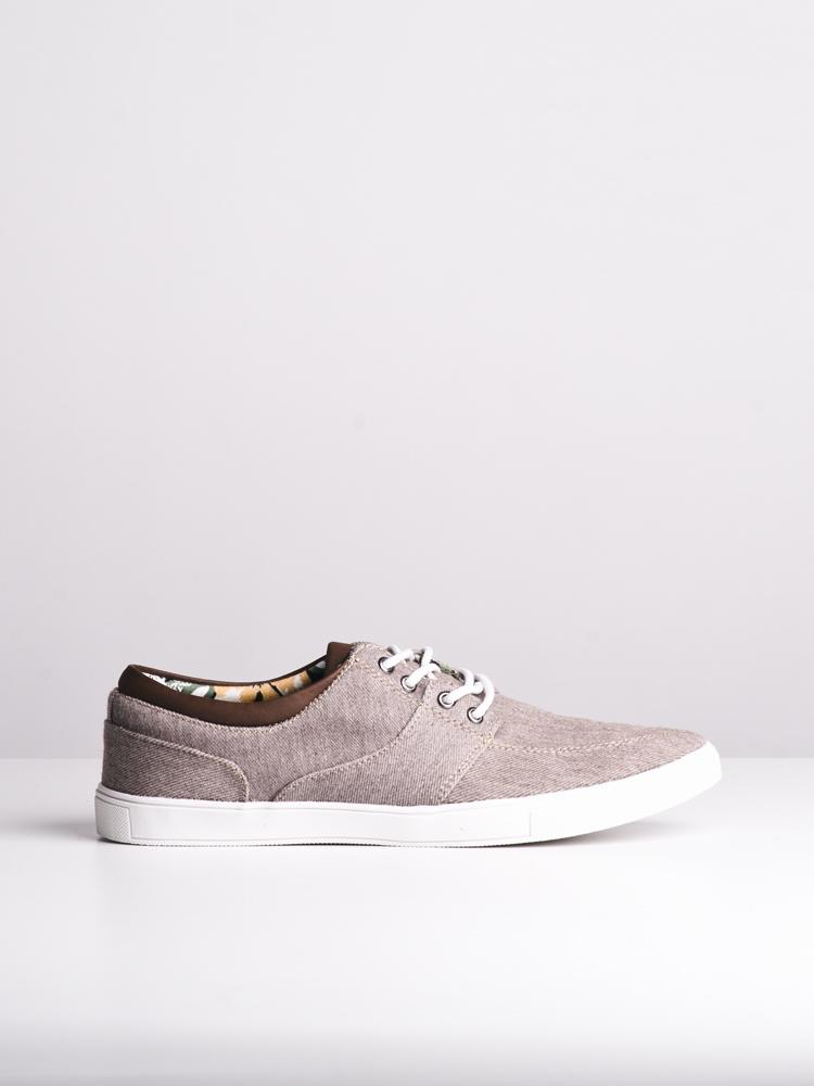 MENS RHETT BROWN CANVAS SHOES- CLEARANCE