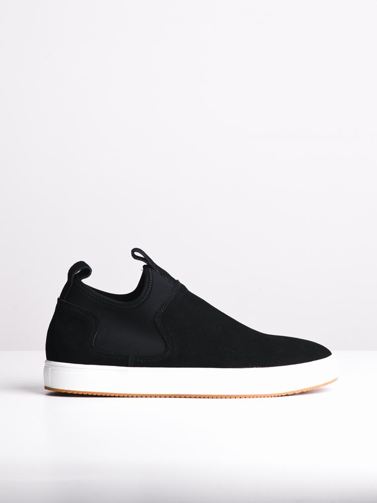 MENS BENJAMIN BLACK SUEDE SHOES- CLEARANCE