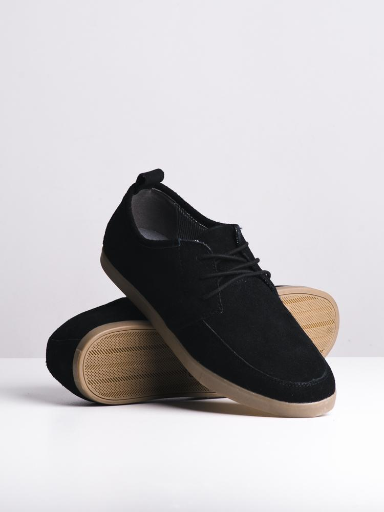MENS ETHAN BLACK SHOES- CLEARANCE
