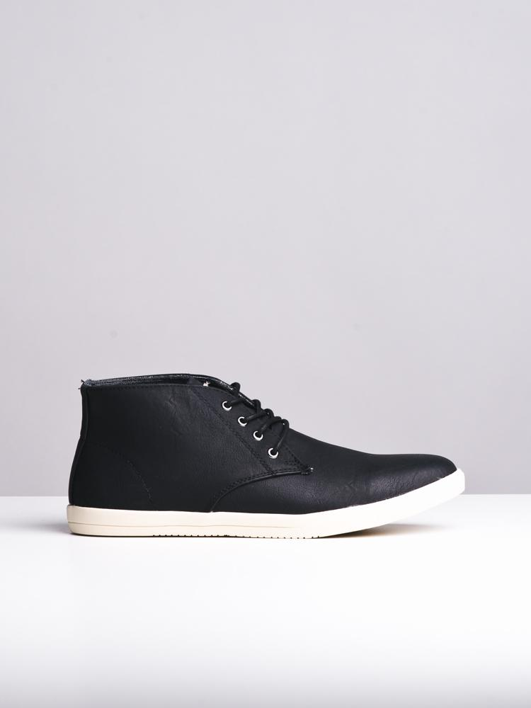 MENS PARKER BLACK SHOES- CLEARANCE