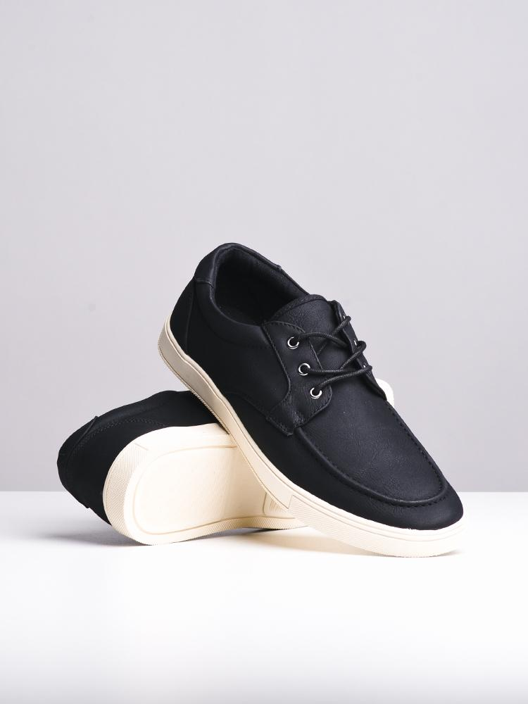 MENS JAMESON BLACK SHOES- CLEARANCE