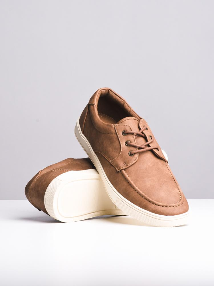 MENS JAMESON COGNAC SHOES- CLEARANCE