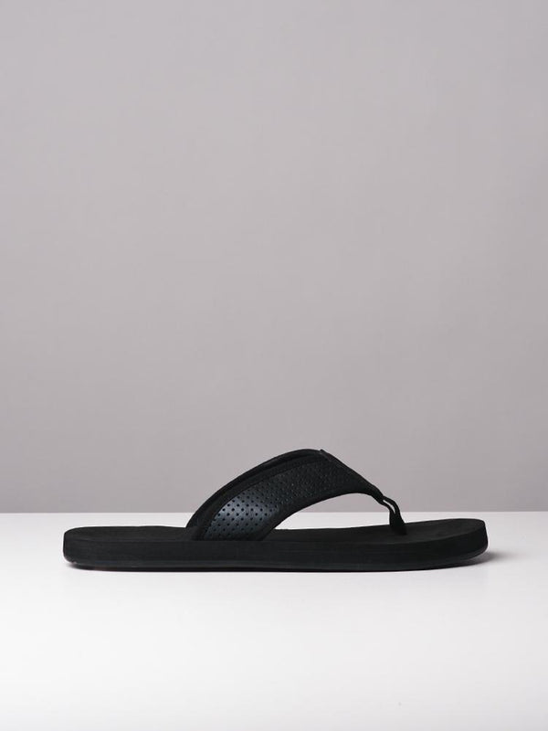 MENS SHANE BLACK SANDALS