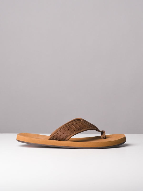 MENS SHANE TAN SANDALS
