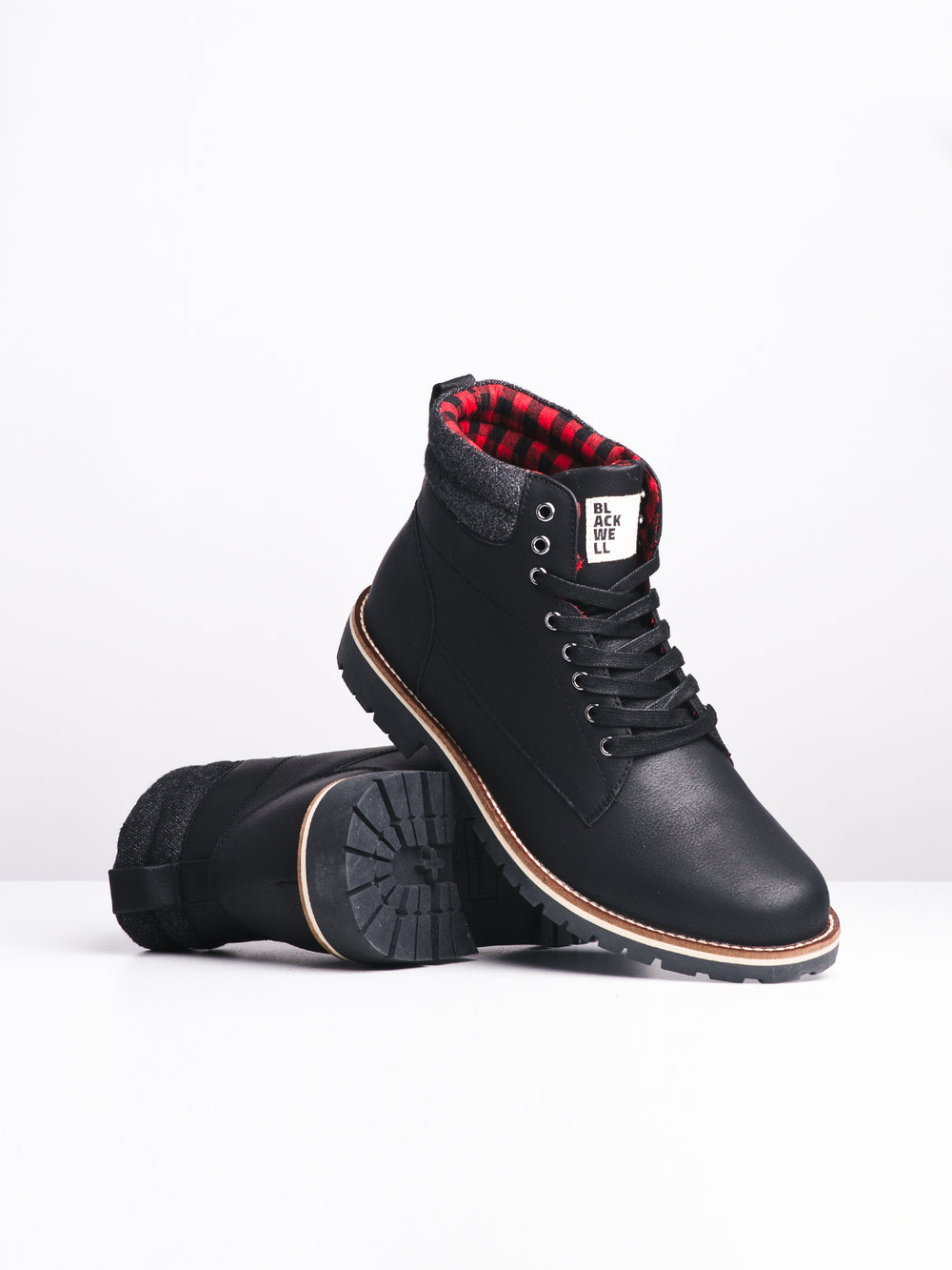 MENS KEAGAN - BLACK-D4B - CLEARANCE