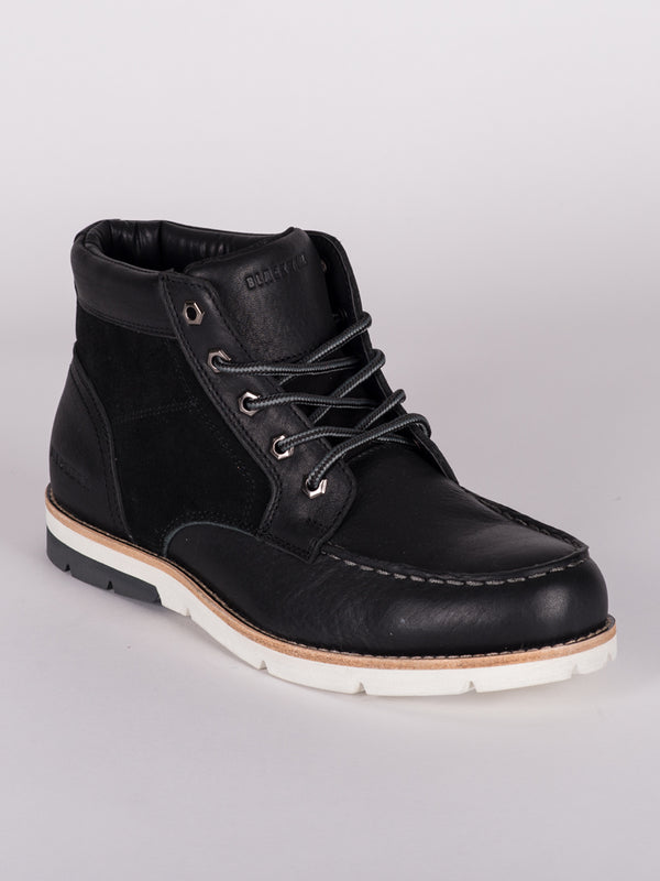 MENS LEVI NUBUCK LEATHER  LACE-UP BOOT - CLEARANCE