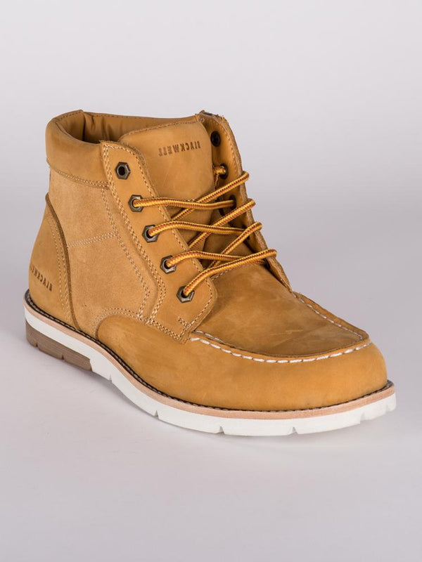 MENS LEVI NUBUCK LEATHER  LACE UP BOOT  - CLEARANCE