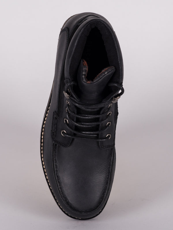 MENS FLETCHER LEATHER LACE UP BOOT  - CLEARANCE