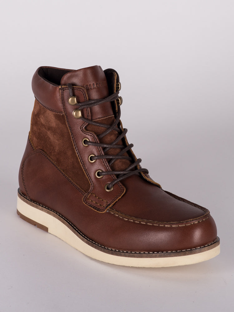 f1467079d1523 MENS FLETCHER LEATHER LACE UP BOOT - CLEARANCE