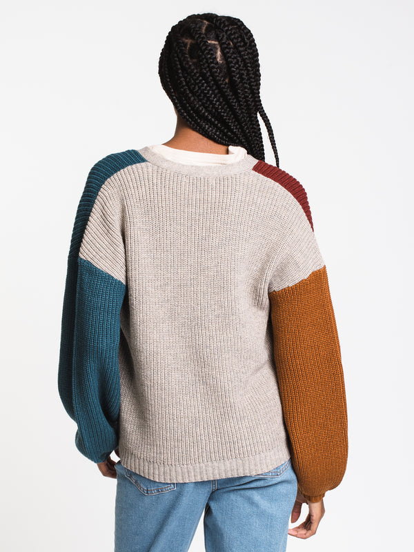 WOMENS WITHOUT YOU CARDIGAN - MULTI
