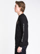 MENS OATH IV L/S T - BLACK