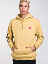 MENS BANQUET PULLOVER HOODIE - BUFF