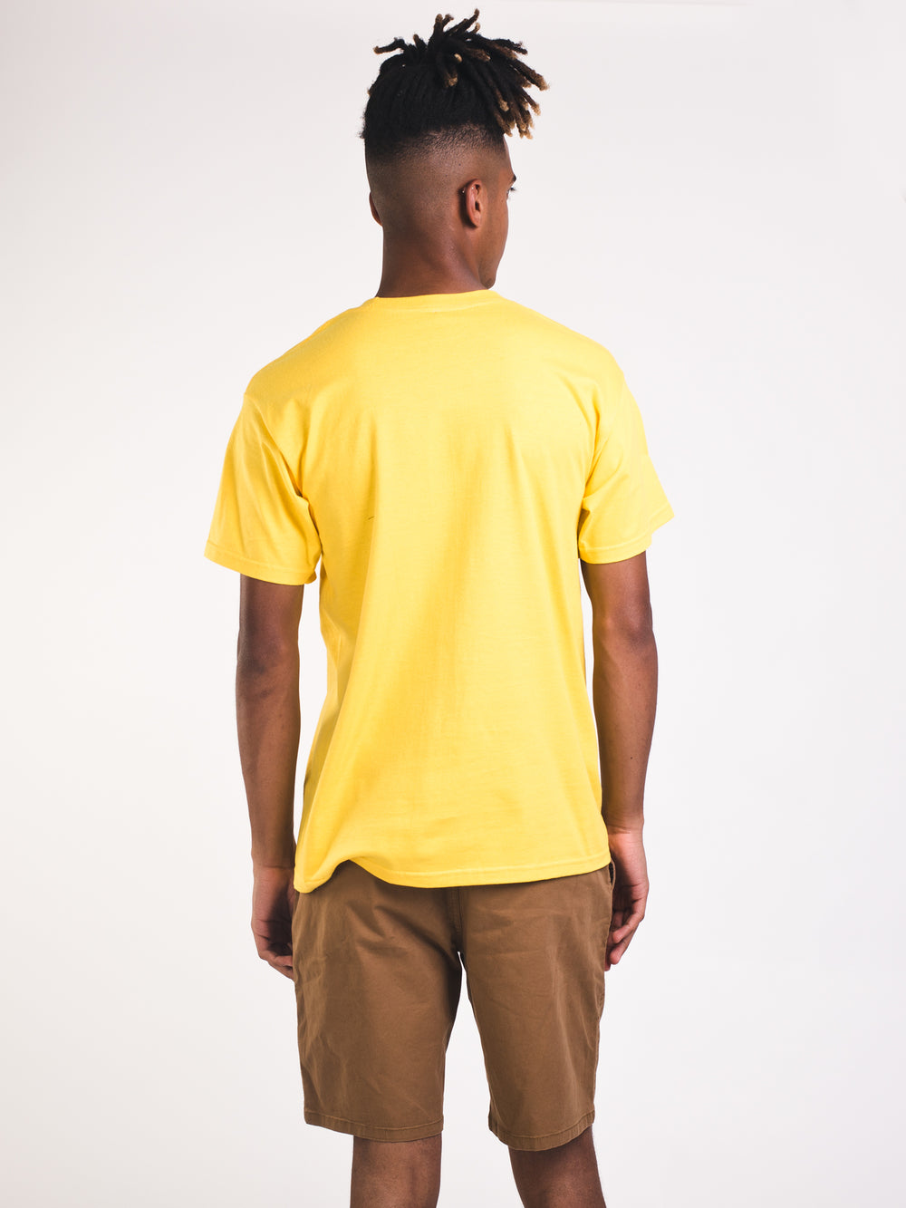 MENS MANTLE SHORT SLEEVE STANDARD T - GOLD