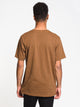 MENS MADE TO LAST SHORT SLEEVE T-SHIRT- WALNUT