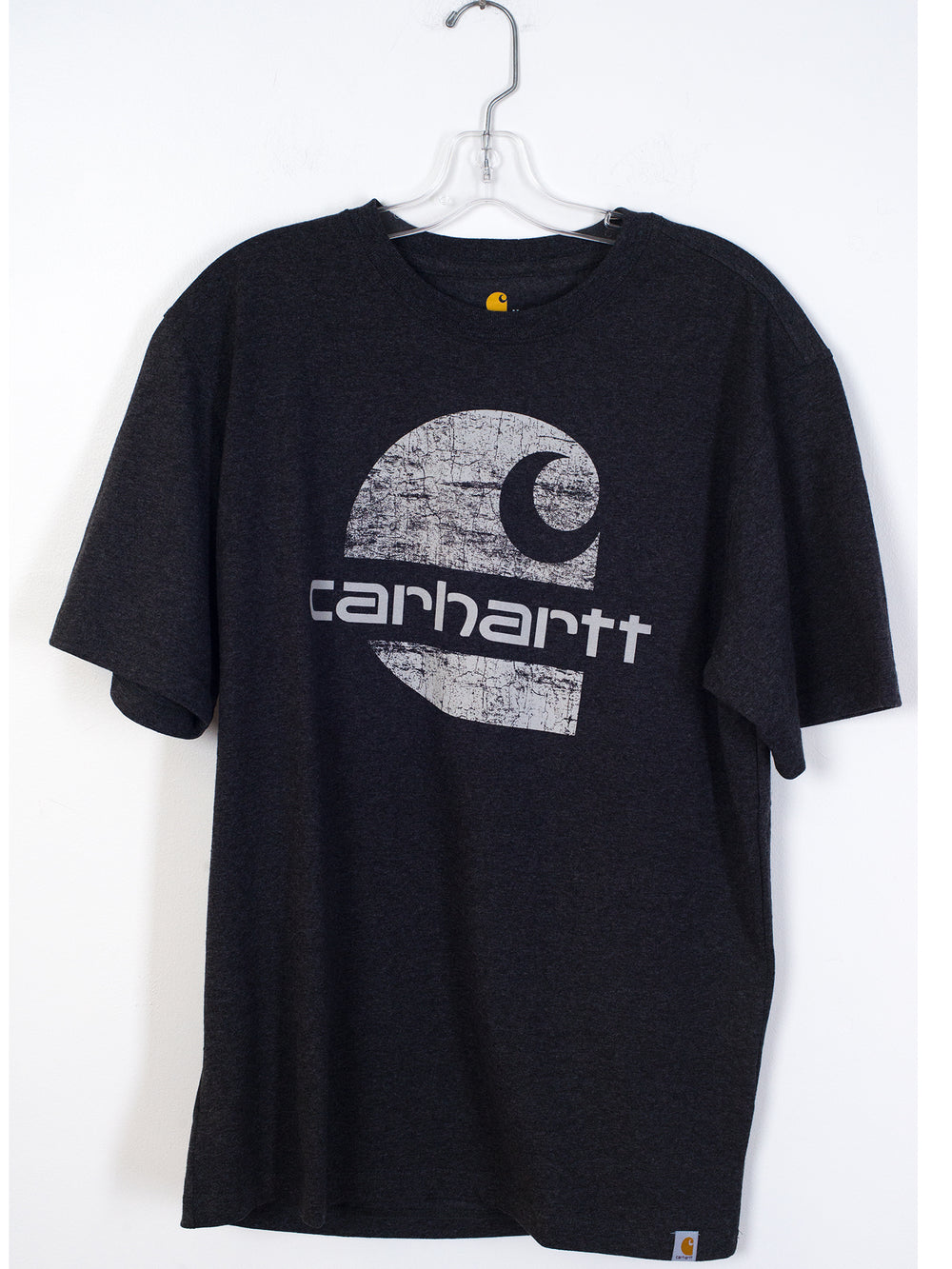 MENS GRAPHIC SHORT SLEEVE T-SHIRT- CARBON HTHR