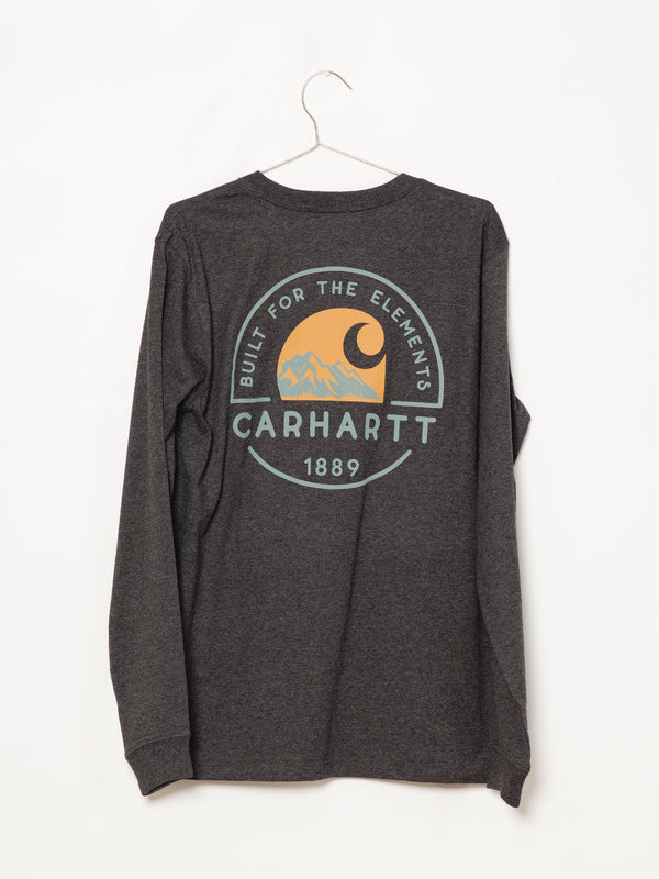 MENS BUILT FOR THE ELMNT LONG SLEEVE POCKET T