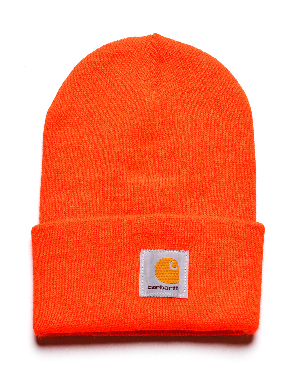WATCH BEANIE - BRITE ORANGE